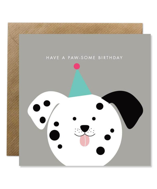 Greeting Card - Have a Paw-Some Birthday Bold Bunny Cards