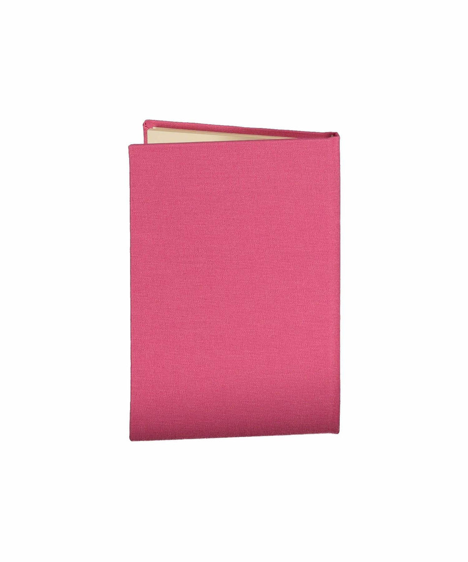 Trinity Knot Pocket Notebook - Fuchsia - [Duffy Bookbinders] - Books & Stationery - Irish Gifts