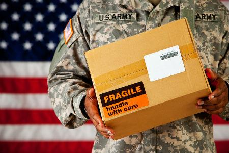 Support the Troops with Care Packages
