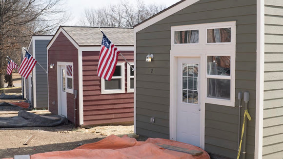 Nonprofit Builds Tiny Houses to Help Homeless Veterans