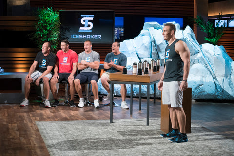 The Gronkowski Brothers Promoting Ice Shaker on Shark Tank