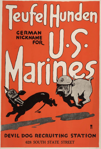 Devil Dog Recruiting Poster