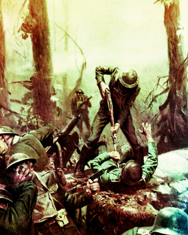 Devil Dogs in Belleau Wood