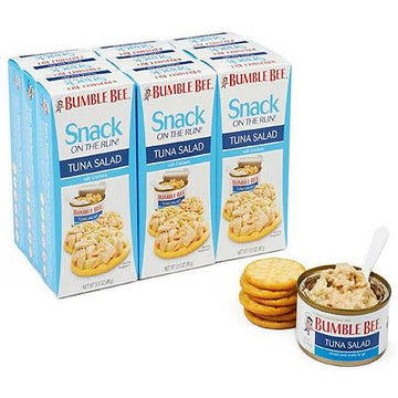 Bumble Bee Tuna Salad Snack On The Run Kit