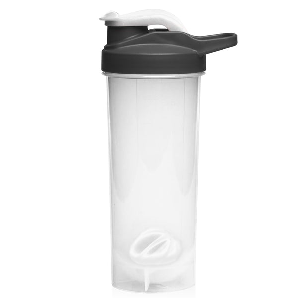 24 oz. Plastic Shaker Bottles with Mixer