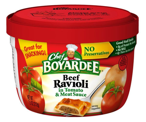 Chef Boyardee Microwaveable Pasta