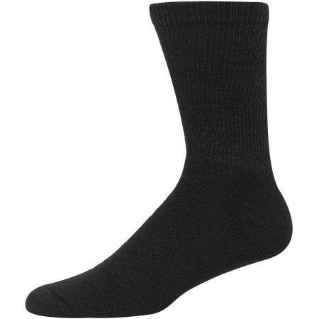Hanes Men's Cushion Crew Socks, 6 Pack