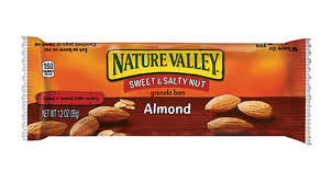 Sweet and Salty Almond Nature Valley Crunchy Snack Bar