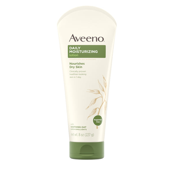 Aveeno Daily Moisturizing Lotion with Oat for Dry Skin, 8 fl. oz