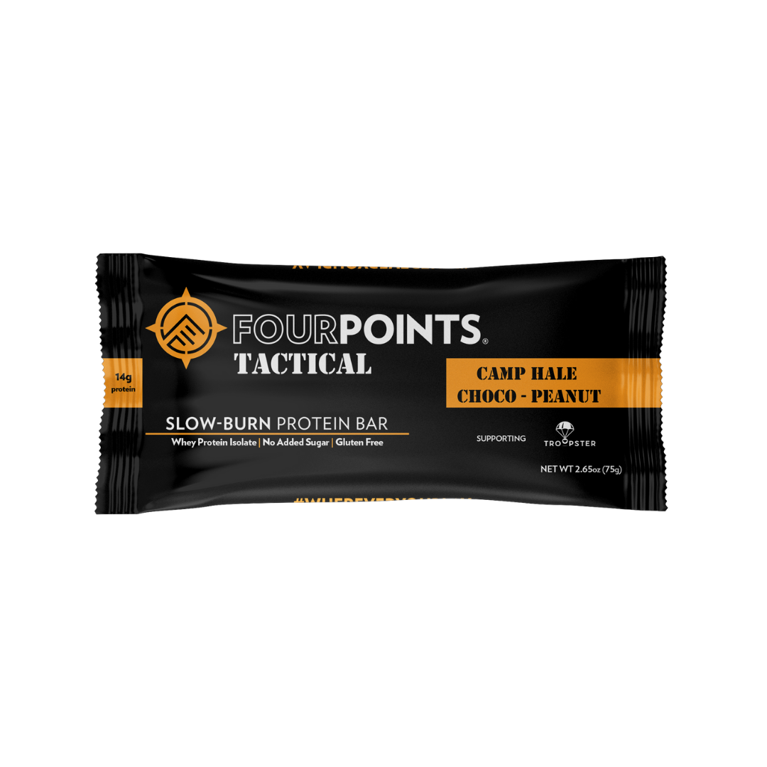 Tactical - Camp Hale Choco-Peanut Protein Bar