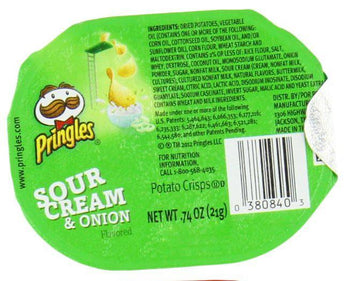 Sour Cream and Onion Pringles Snack Stacks