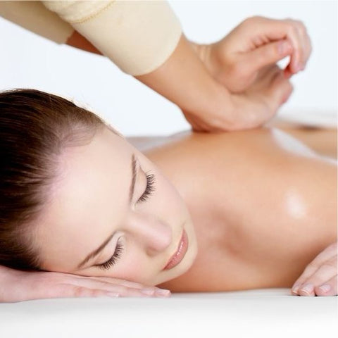 Aromatherapy Massage – Back, Neck & Shoulder