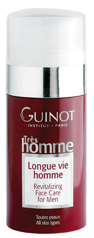 Guinot Longue Vie Homme - Revitalising Face Care for Men