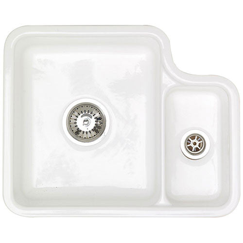 Astracast Lincoln Ceramic Sink with 1.5 Bowl