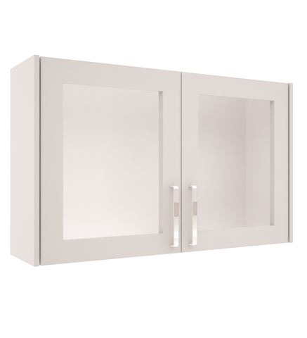 High Gloss - Wall Double Glass Unit