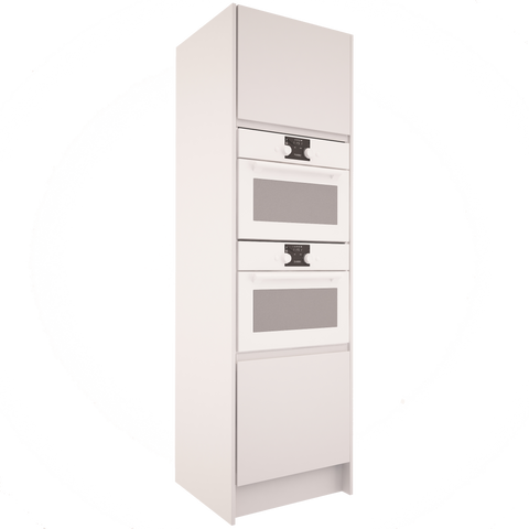 Handleless - Tall Double Oven Housing Unit
