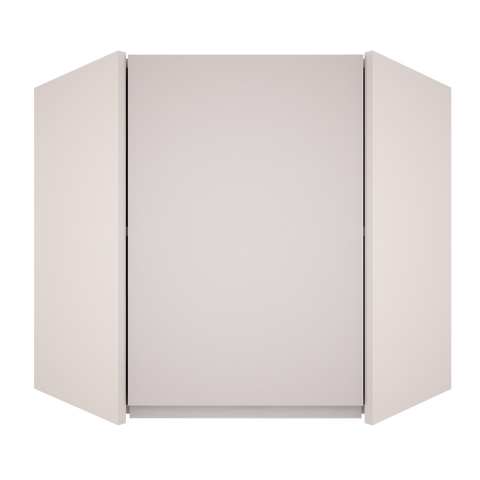 Handleless Matt - Wall Diagonal Corner Unit
