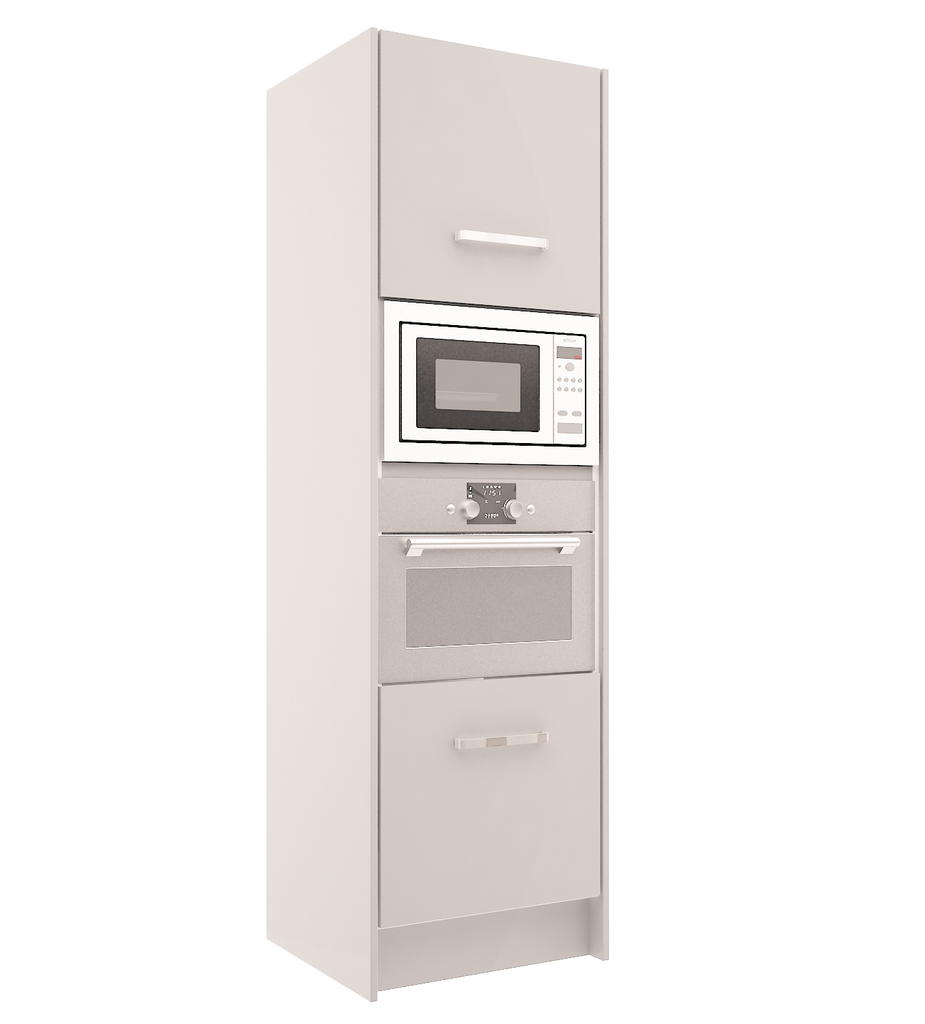 High Gloss - Tall Oven Microwave Unit