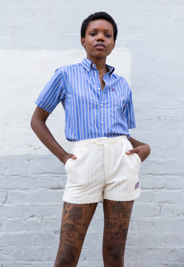1970s Vintage Terrycloth Shorts