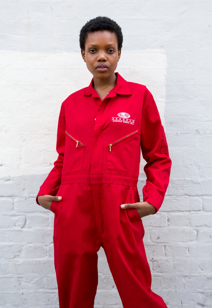 Unisex Vintage Workwear Boilersuit