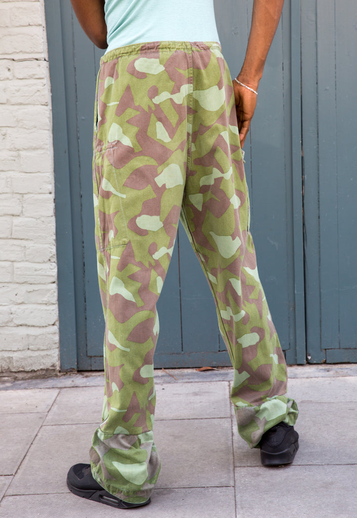 Vintage Finnish Military Camouflage Trousers