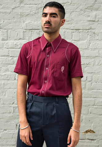 Vintage Indian Cotton Woven Shirt