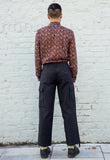 Vintage Black Work Trousers