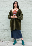 Vintage Fleece Military Liner Jacket