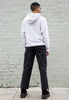Light Grey Champion Oshkosh Hooded Sweatshirt