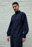 90s Vintage Blue Boilersuit