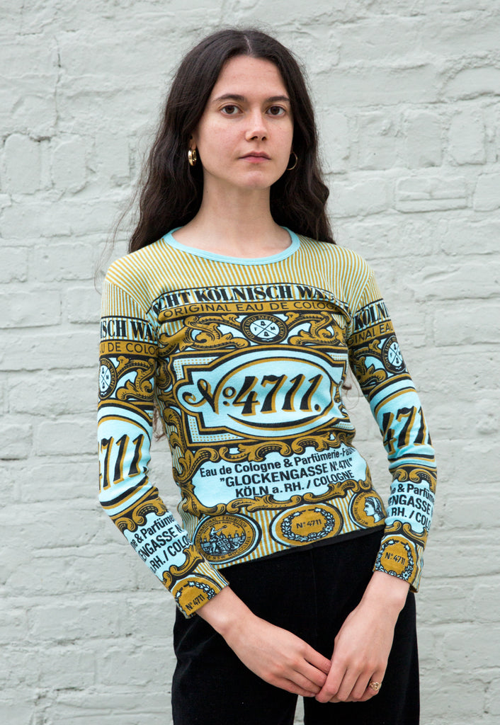 Vintage No. 4711 Eau de Cologne Novelty Print Tee