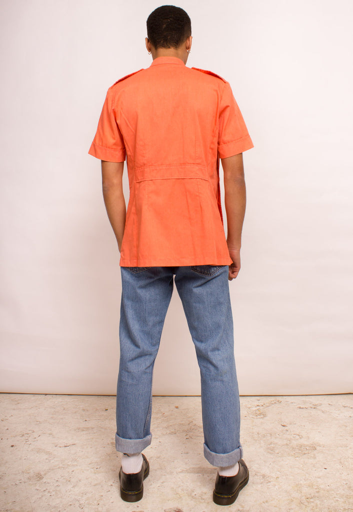 OVERDYED SHORT SLEEVED TOP