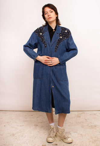 Vintage Denim Parka