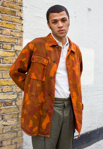 Vintage 1970s Patterned Shirt