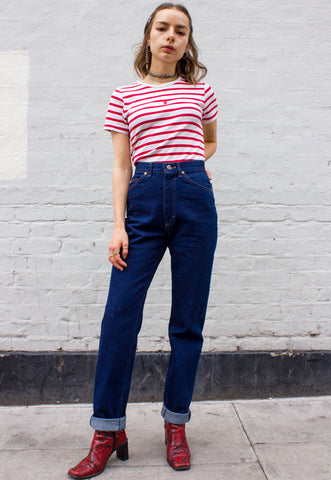 1990s Vintage Cotton Eyelet Shirt