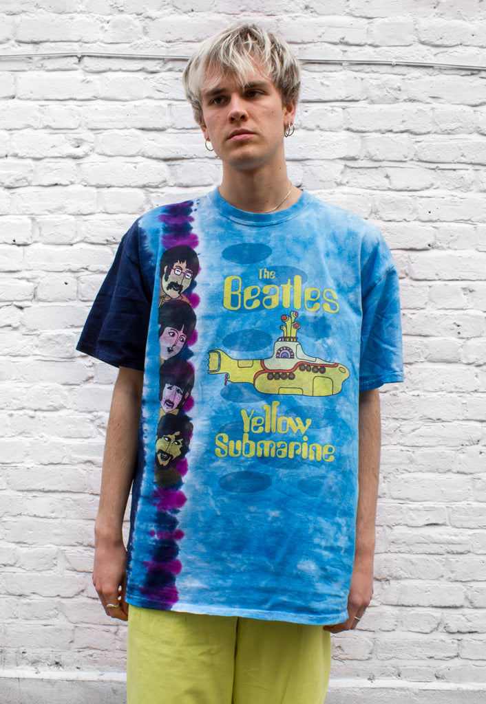 Vintage Beatles Tie-dye T-shirt