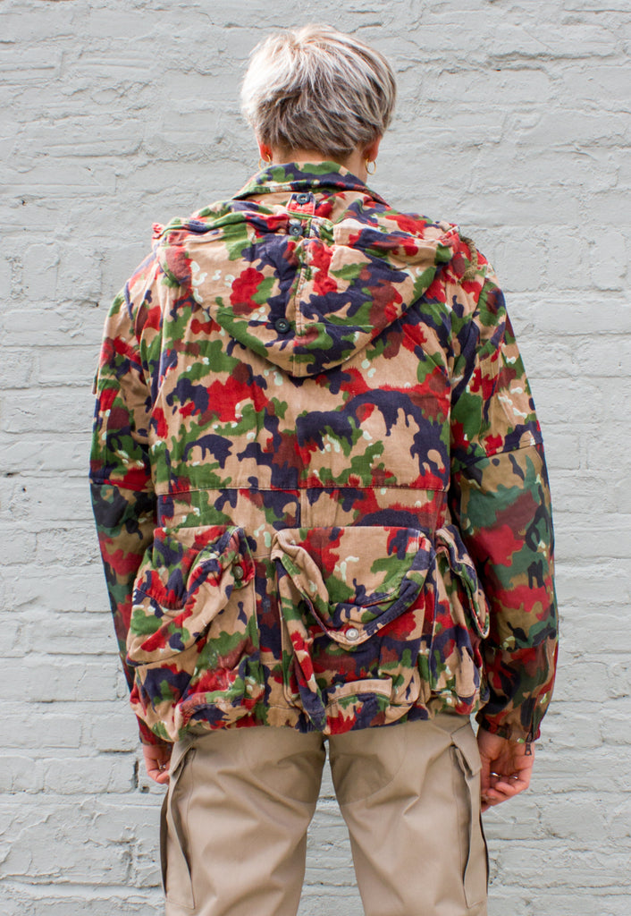 Swiss Military Camouflage Jacket