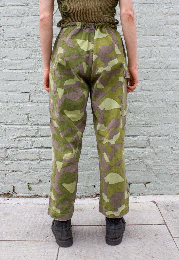 Vintage Finnish Military Camo Trousers