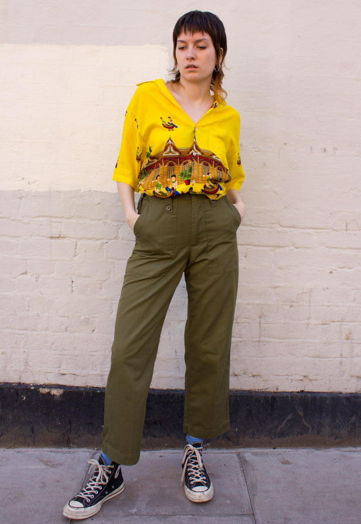 VINTAGE MILITARY TROUSERS