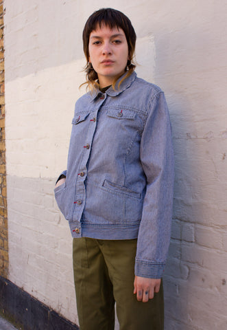 OVERSIZED DENIM COAT