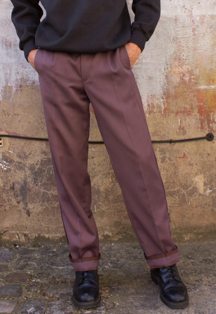 VINTAGE UNISEX TAILORED TROUSERS