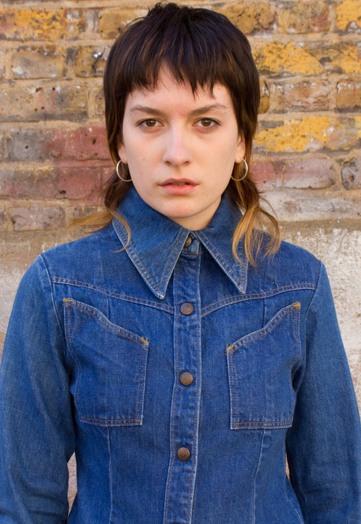 VINTAGE LANDLUBBER DENIM DRESS