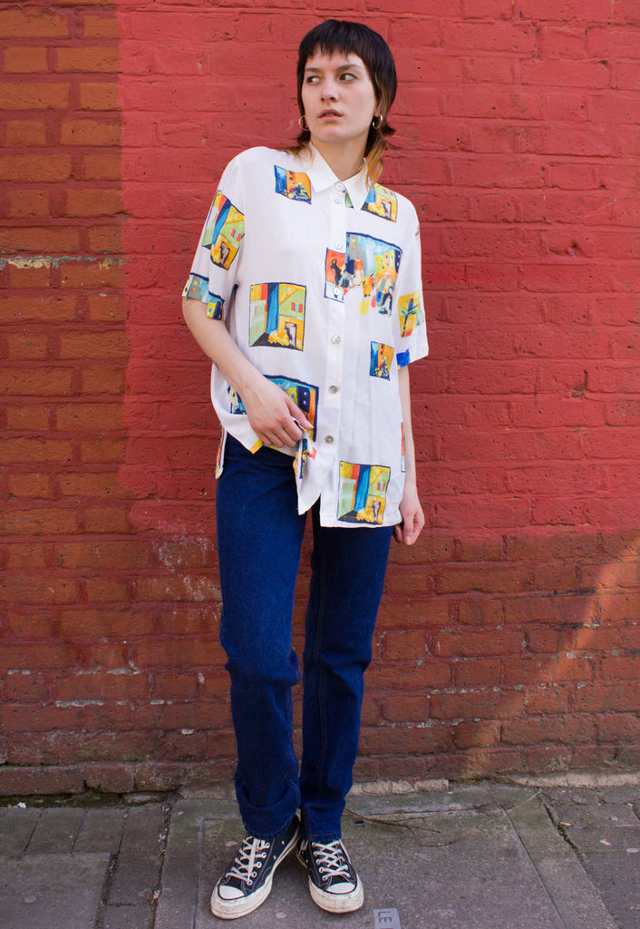 VINTAGE OVERSIZED PICTURE SHIRT