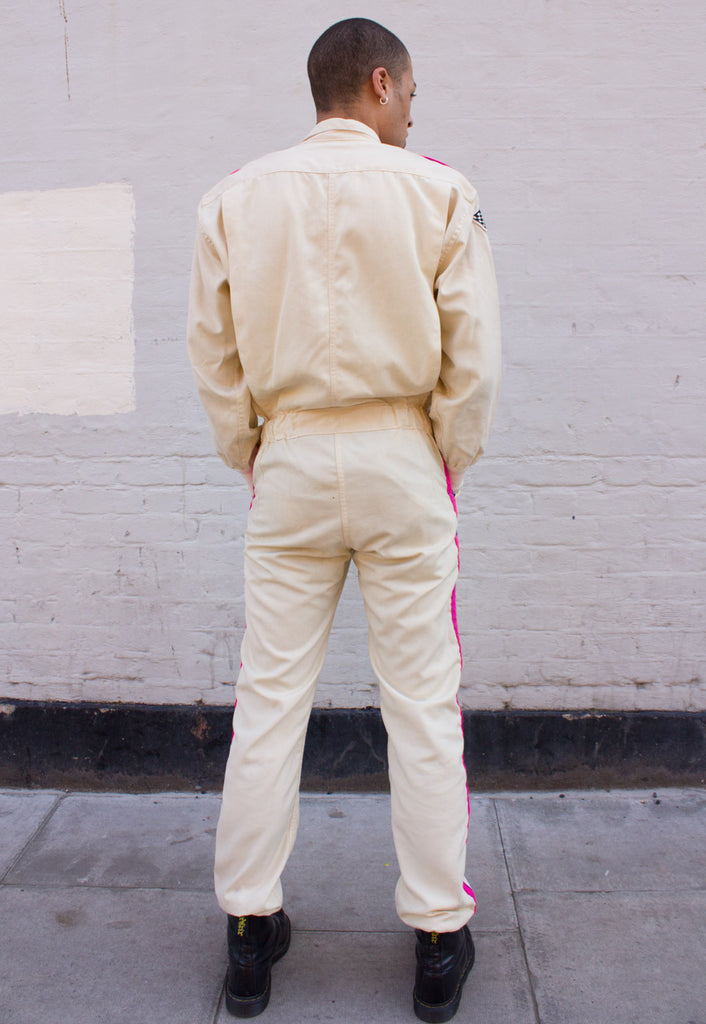 VINTAGE ONE-OF-A-KIND COVERALL / BOILERSUIT