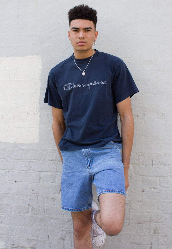 90's VINTAGE CHAMPION SPORTS LOGO T-SHIRT