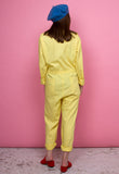 Vintage Yellow Jumpsuit