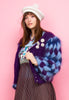 MOHAIR BALLOON SLEEVE CARDIGAN