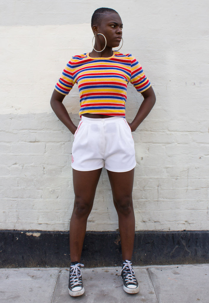 VINTAGE 70'S SPORTS SHORTS