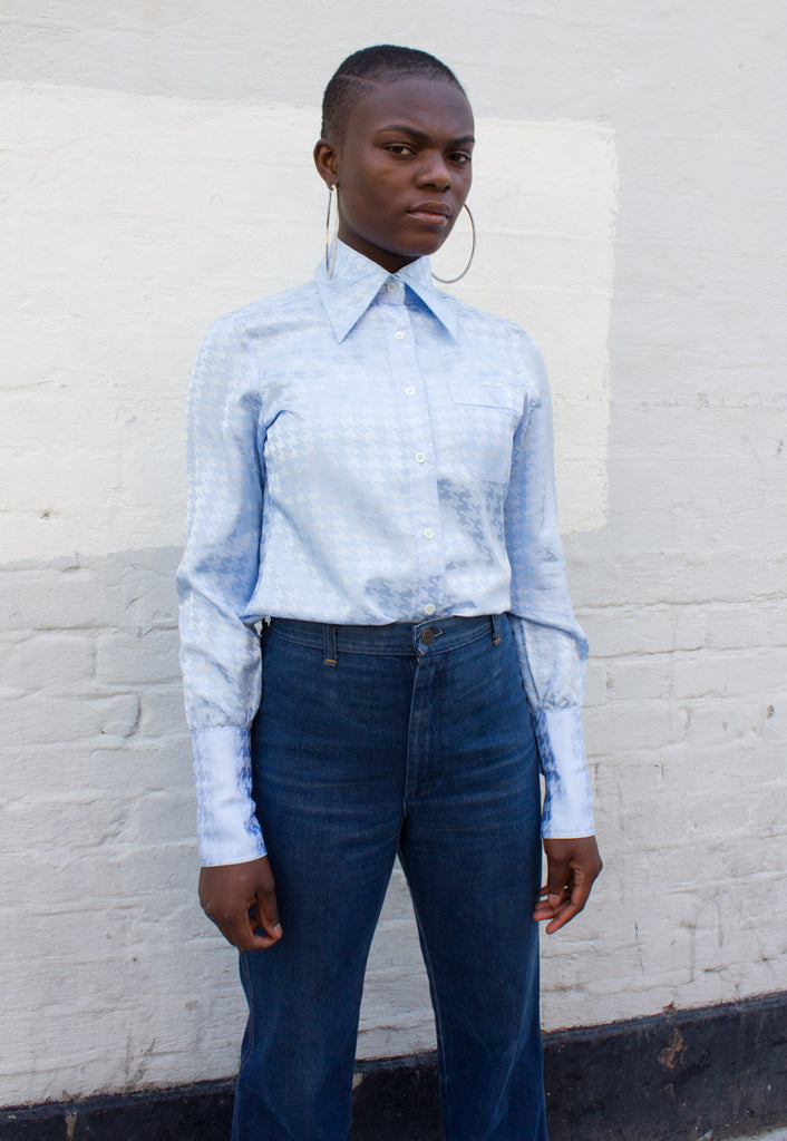 BABY BLUE VINTAGE SHIRT