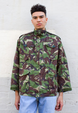 OVERDYED REVERSIBLE CAMO JACKET